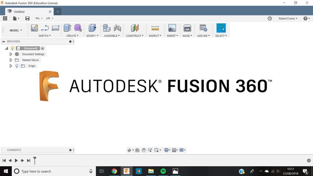 Loading Screen text remains - Autodesk Community- Fusion 360