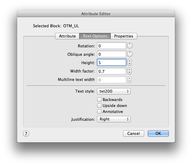 how to create block attribute in autocad