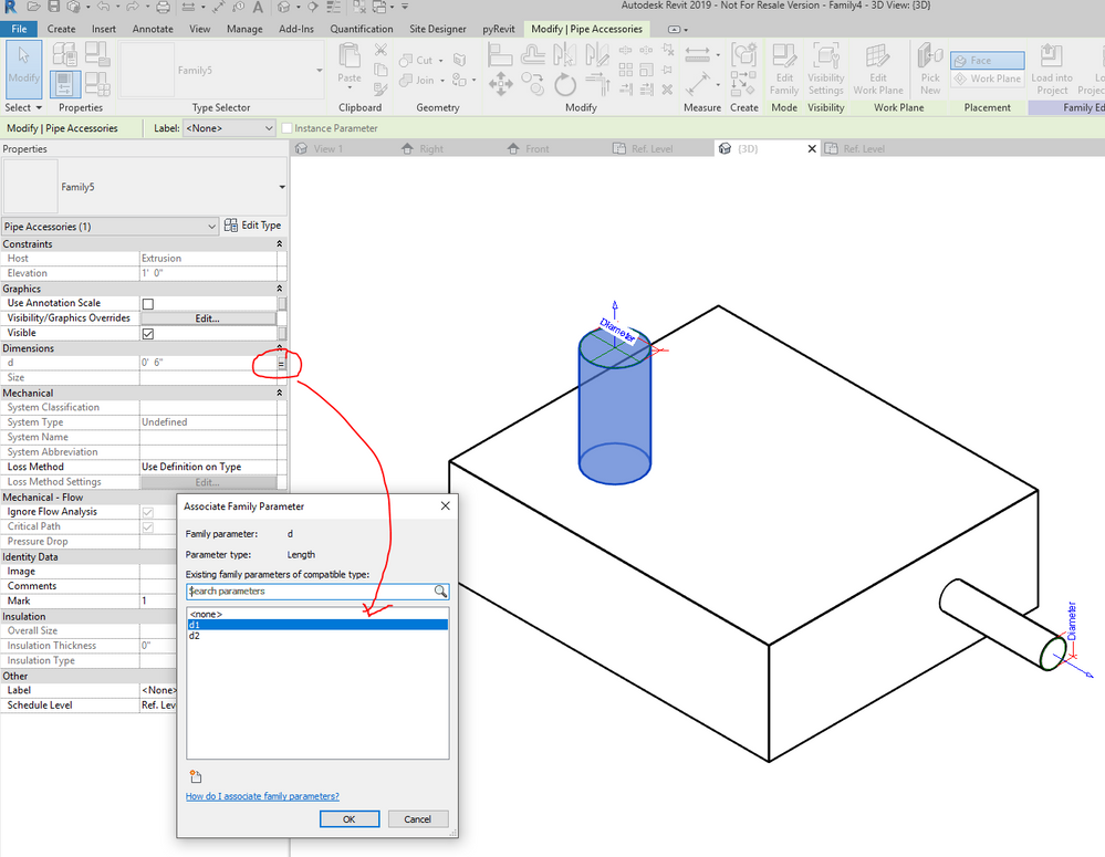 Nested family parameter value into Host family - Autodesk