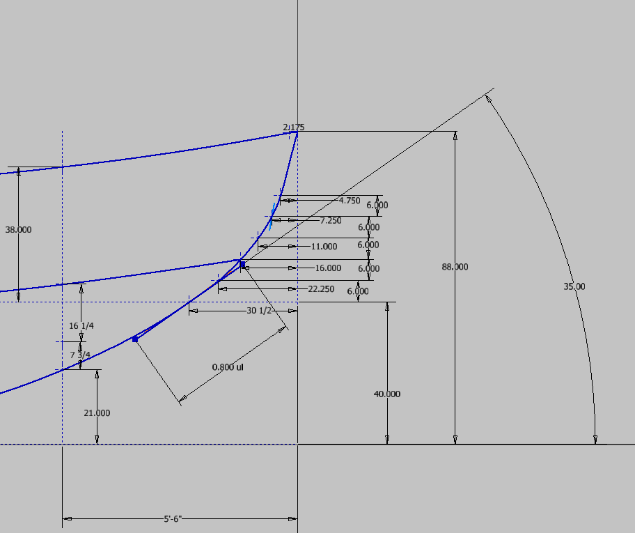 how to draw a tangent line autocad 2017