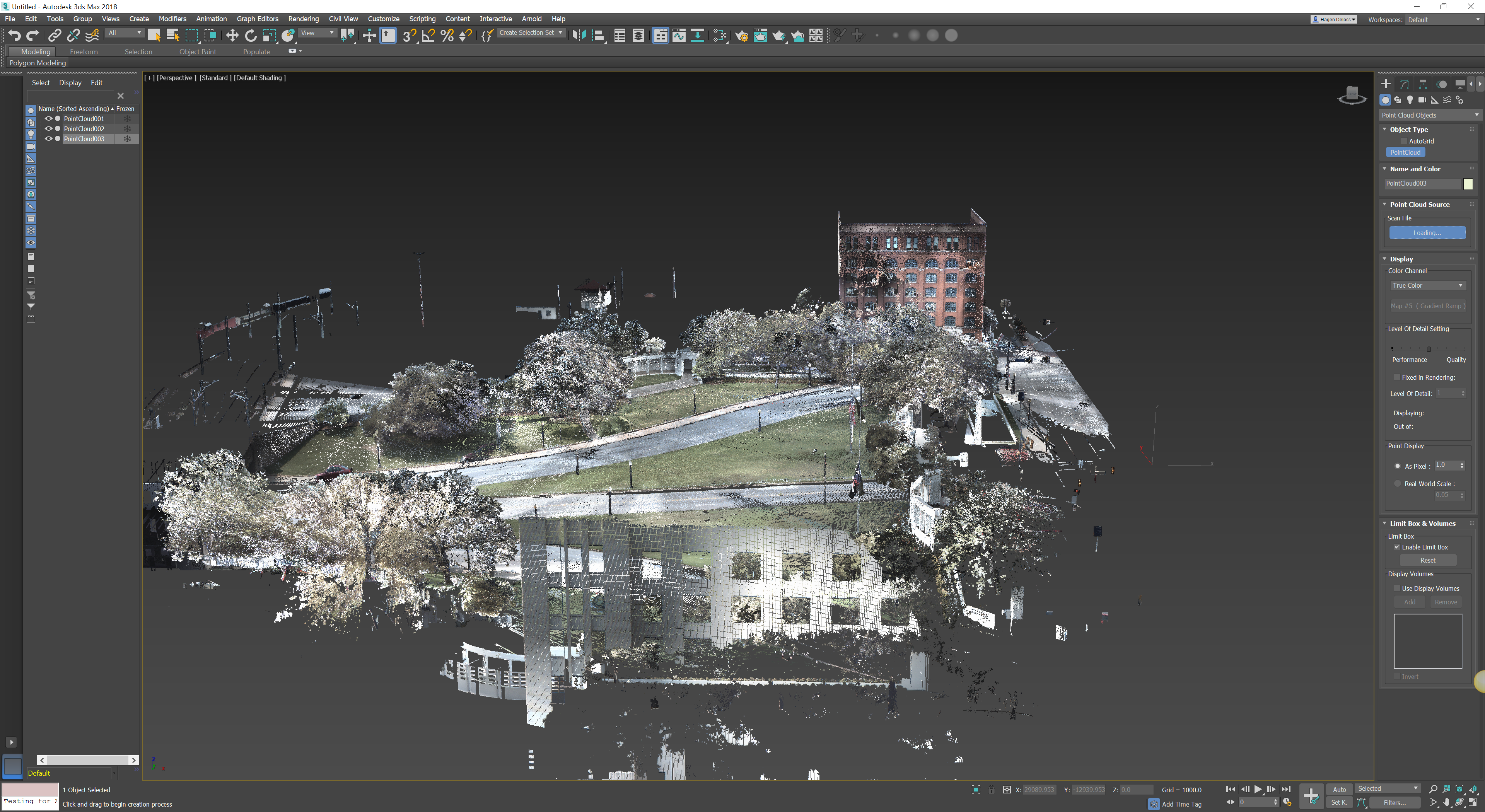 Solved: How to convert a point cloud to a 3DS Max format? - Autodesk