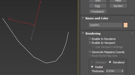 Solved: How to create geometry from a spline in 3DS Max