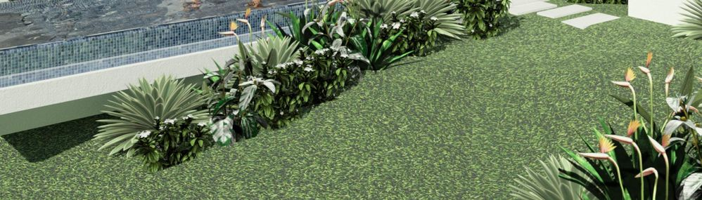 Solved: How do I get the image rendererd with realistic grass