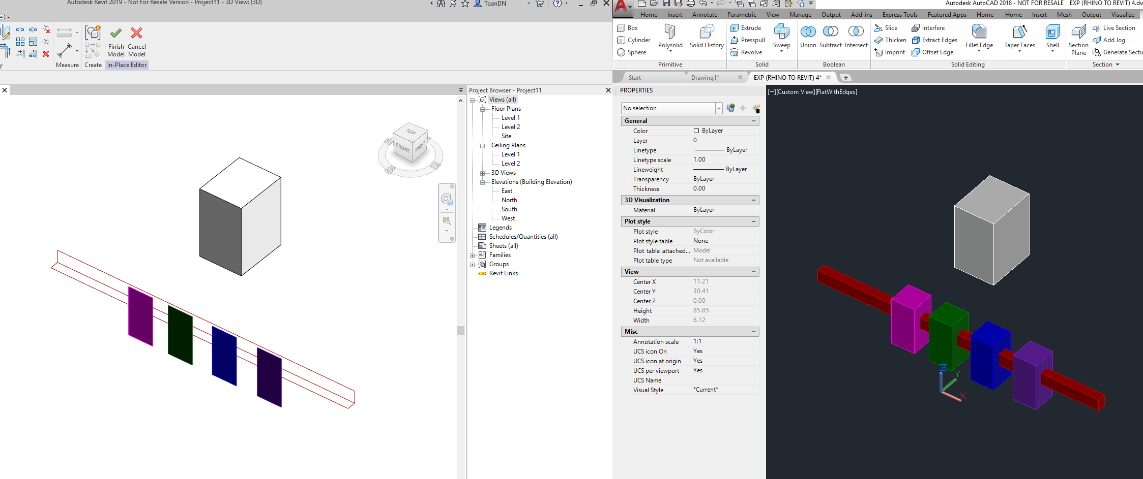 Solved: Rhino to Revit (Maintaining Layers Question) - Autodesk