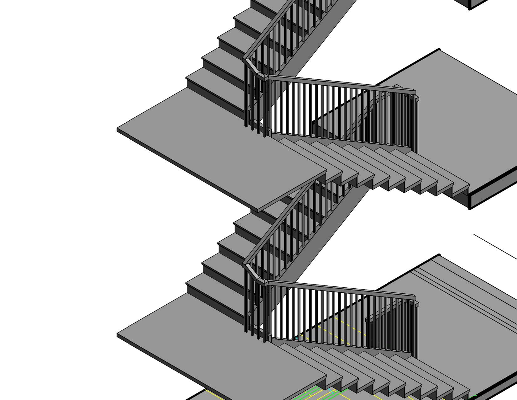Railing On Stair Revit - Photos Freezer and Stair Iyashix Com