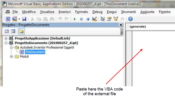 Can any iLogic rule run in the VBA editor of Inventor? - Autodesk