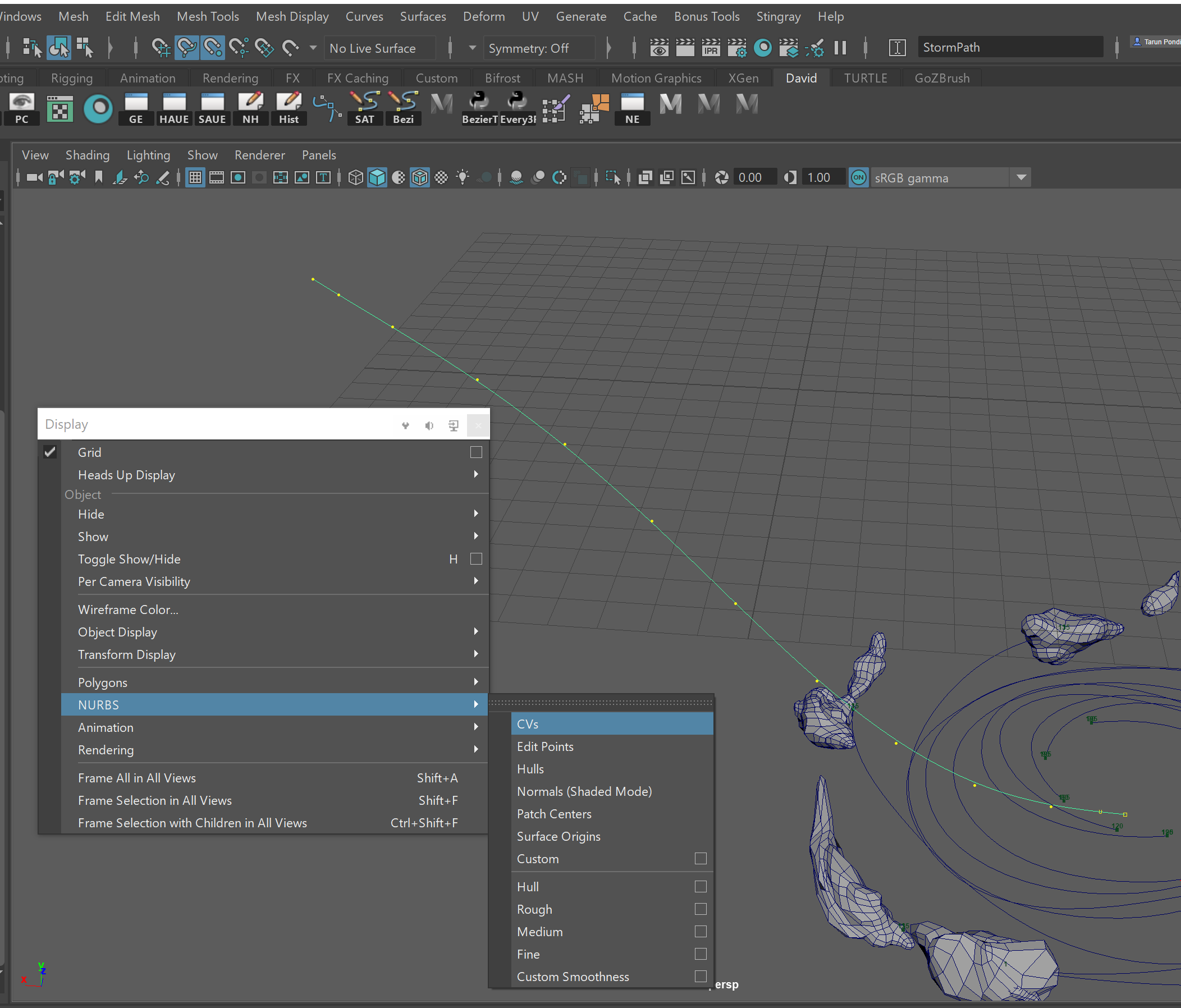 Vertex to Curve Snap not working! Why? - Autodesk Community- Maya