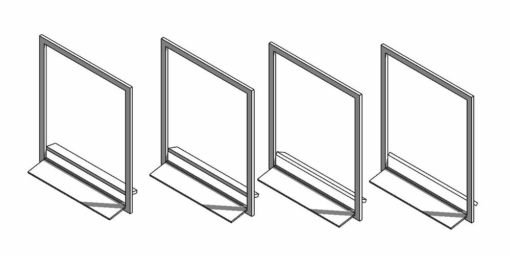 Solved: Rotation angle for louvers of door panel
