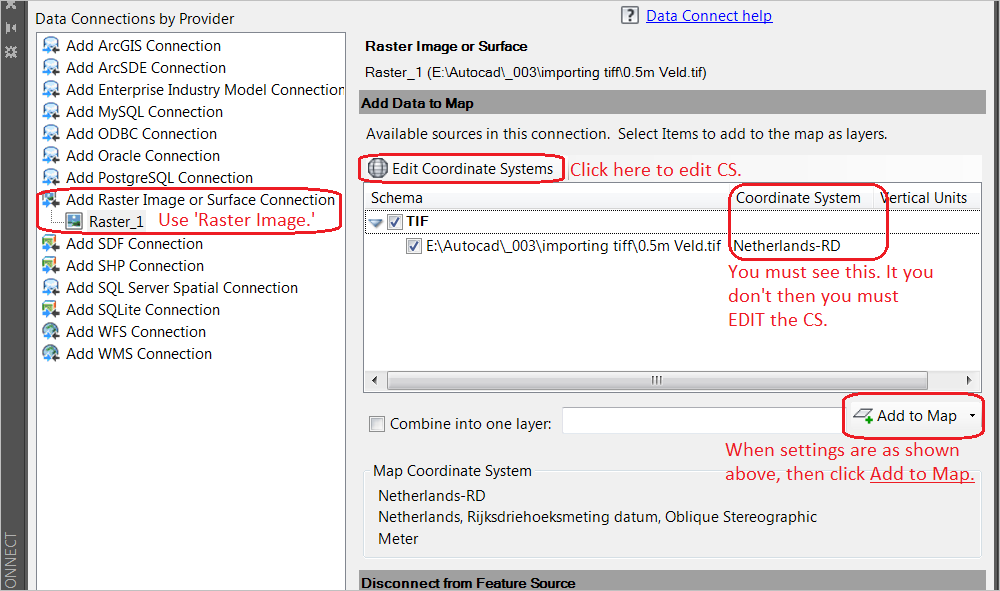 Solved: importing tiff as surface issue - Autodesk Community- Civil 3D