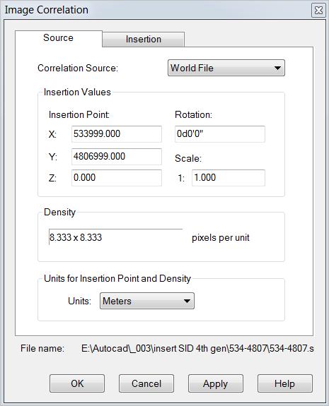 Solved: Insert SID 4th generation file - Autodesk Community- AutoCAD