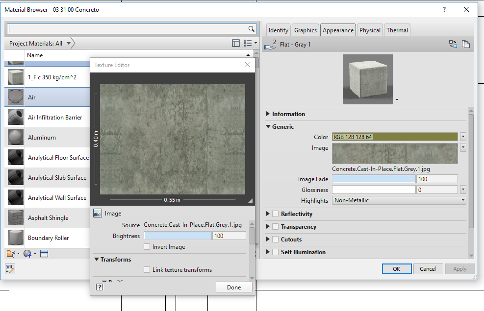 Question on new Pbr materials in Revit 2019 - Autodesk Community