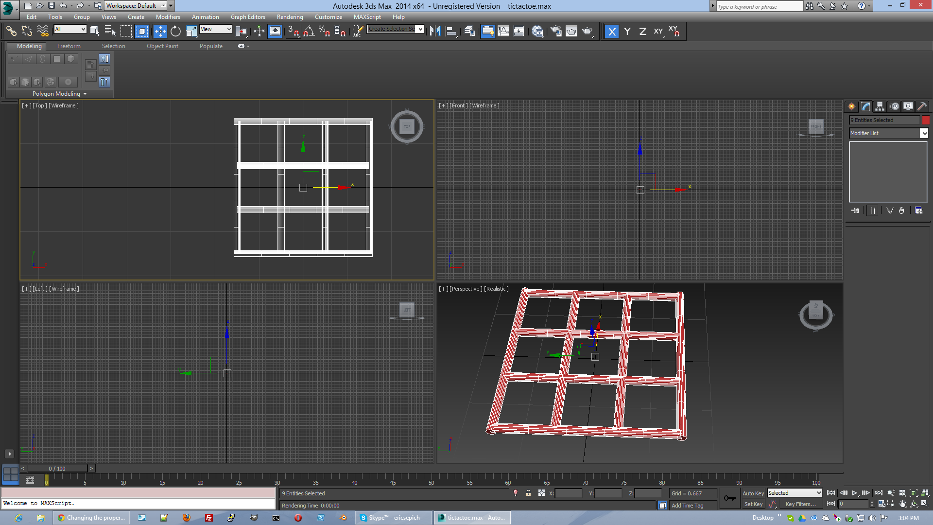 3ds max how to make multiple objects into one