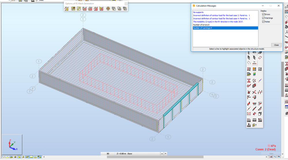 Solved: Containment Slab Design warnings - Autodesk