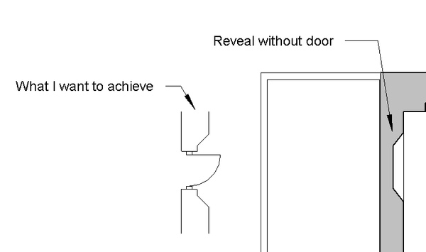 See drawings below Reveal_Door1.png ...  sc 1 st  Autodesk forums & Solved: Vertical Reveals with doors - Autodesk Community- Revit Products