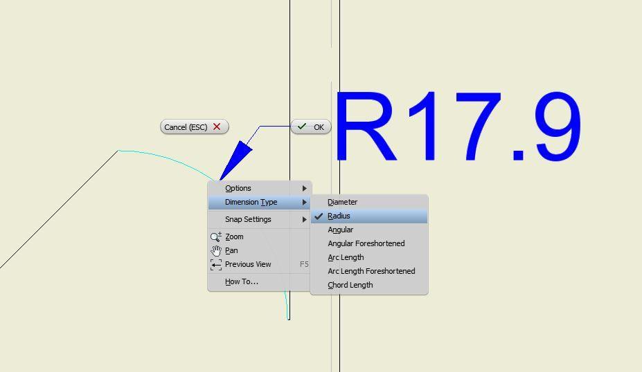 Solved: Arc Length Dimension option gone in 2019 - Autodesk