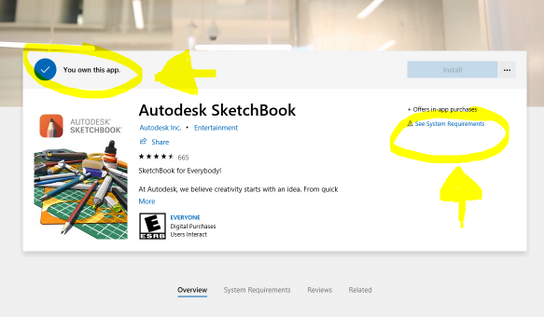 Solved: Can't download autodesk sketchbook on my pc - Autodesk
