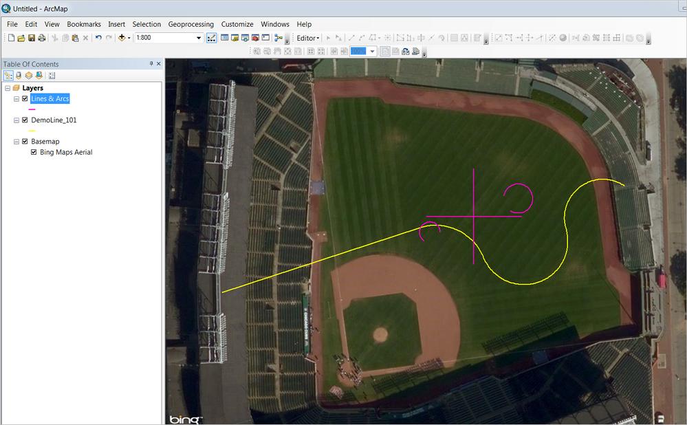 export to GIS, keep map object data, keep arcs? (no