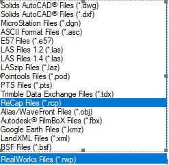Import Realworks file to navisworks - Autodesk Community