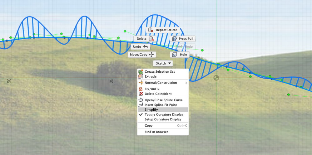 Spline curve simplification (true curve-fitting) - Autodesk Community