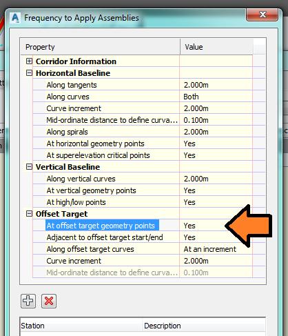 Solved: Corridor target problem - Autodesk Community- Civil 3D