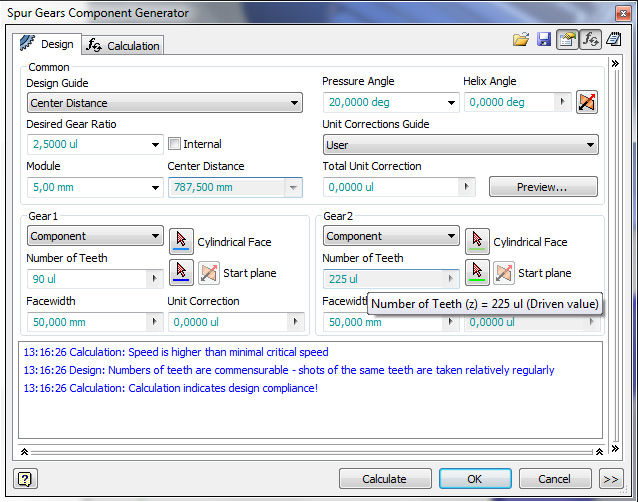 Solved: spur gear driven value - Autodesk Community- Inventor