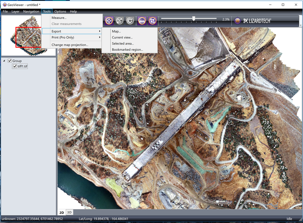 Solved: Huge Pix4D  tiff not importing into C3D - Autodesk