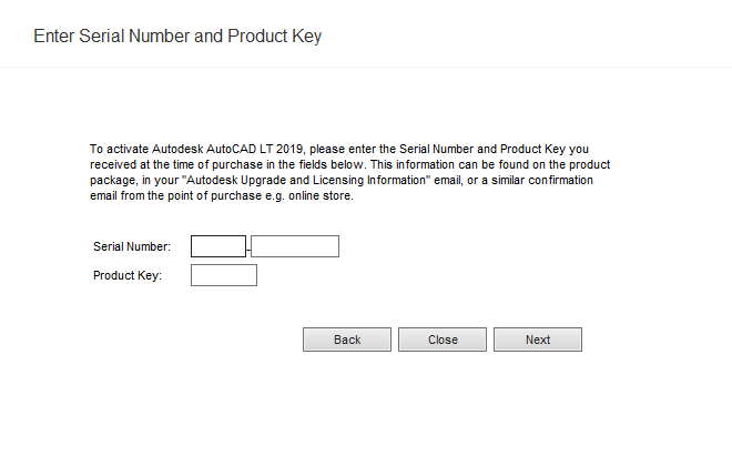 autocad 2019 serial number and product key generator
