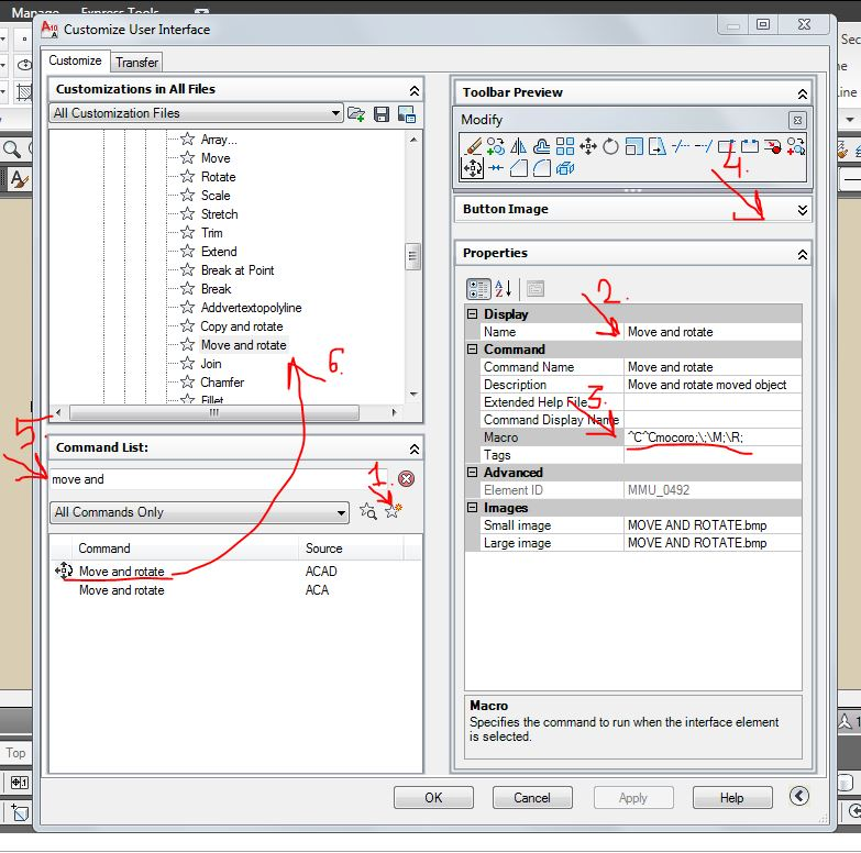 Solved: Copy/Rotate and Move/Rotate Commands - Autodesk