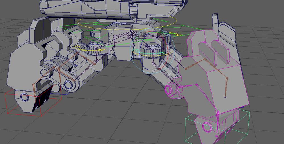 Solved: Rigging a spider robot - Autodesk Community- Maya