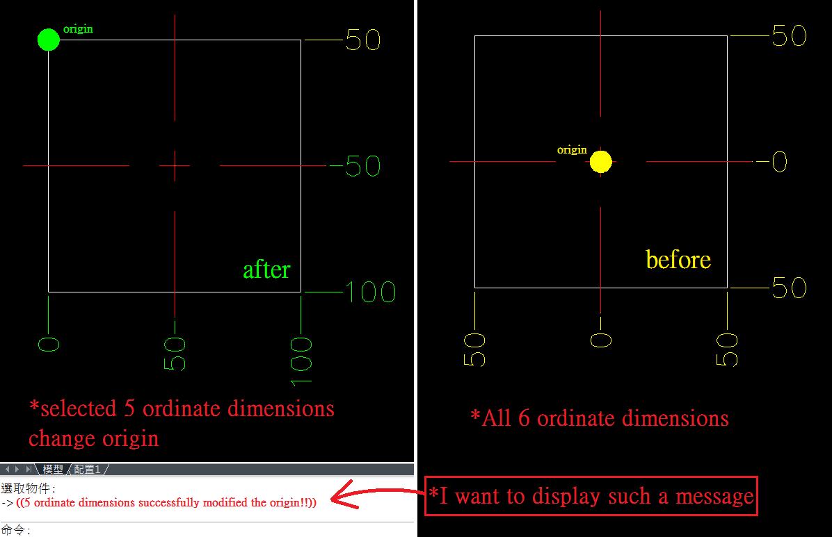 Solved: set origin for all ordinate dimensions - Autodesk
