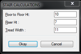 Solved: Stair Calculator dcl assistance - Autodesk Community
