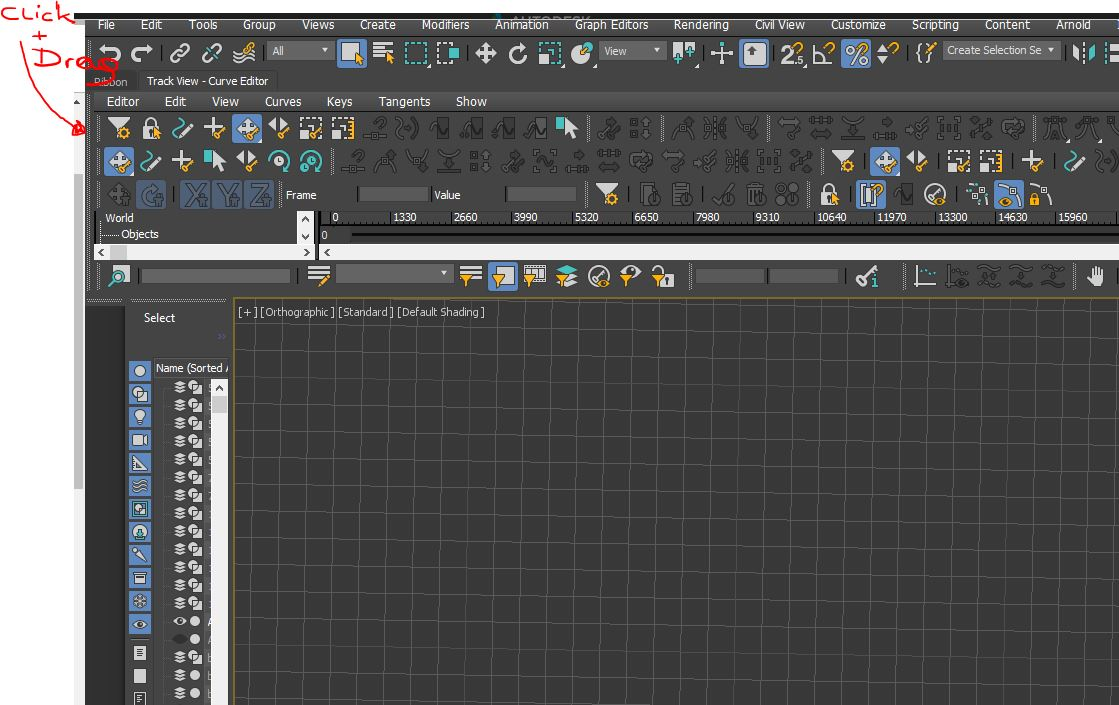 Curve Editor is stuck - Autodesk Community- 3ds Max