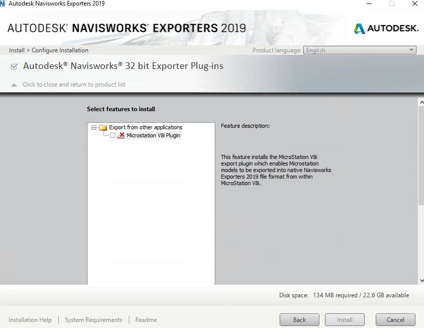 64bit Navisworks Exporters for Microstation - Autodesk