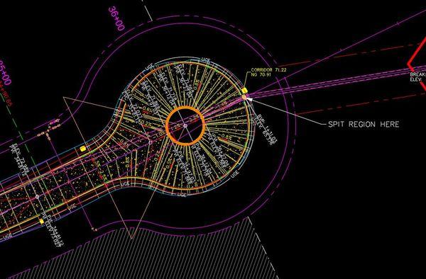 Ditch profile on circular alignment - Autodesk Community