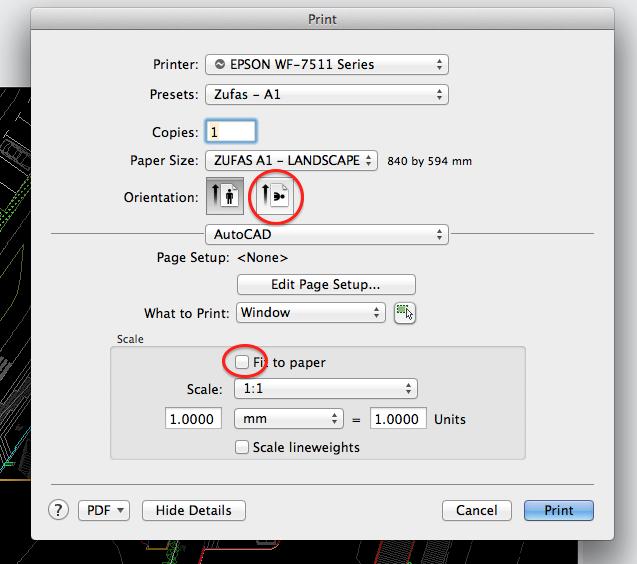 Custom Paper Size Autocad Mac 2016