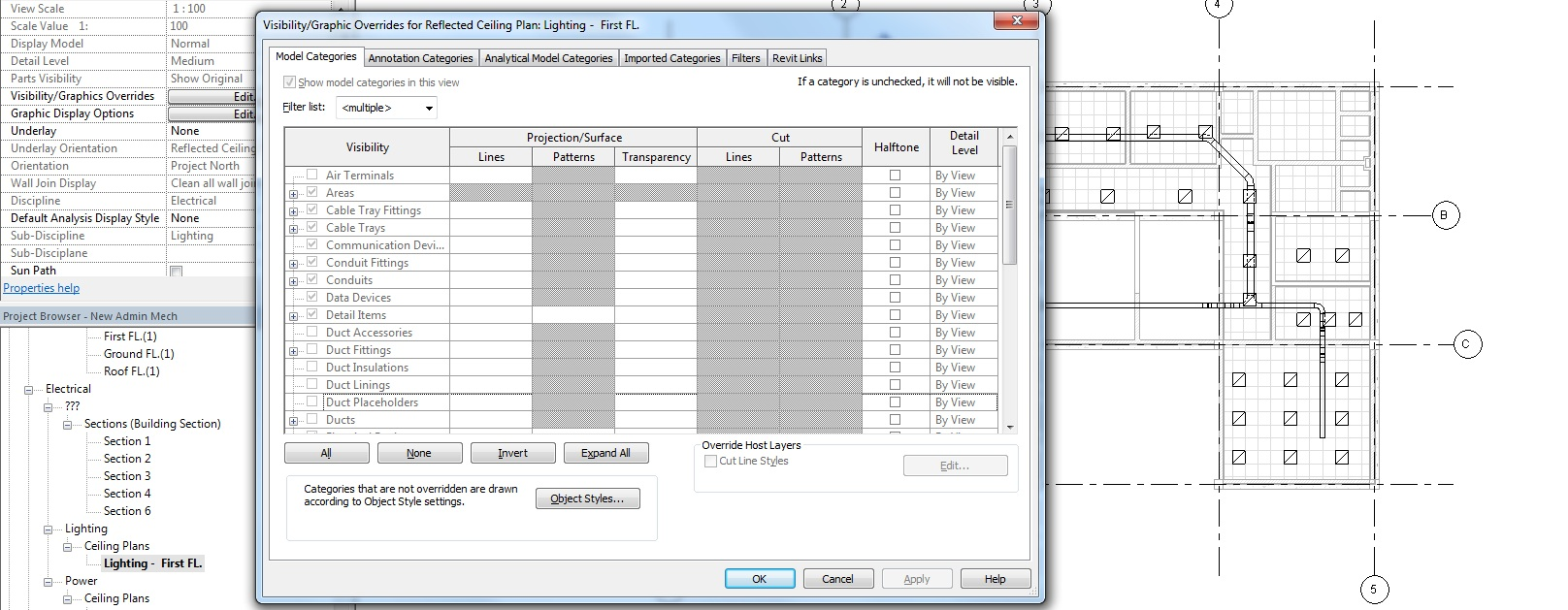 Solved: how to create Plan views for different disciplines