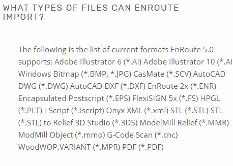 Enroute and 3d models/STL - Autodesk Community- AutoCAD