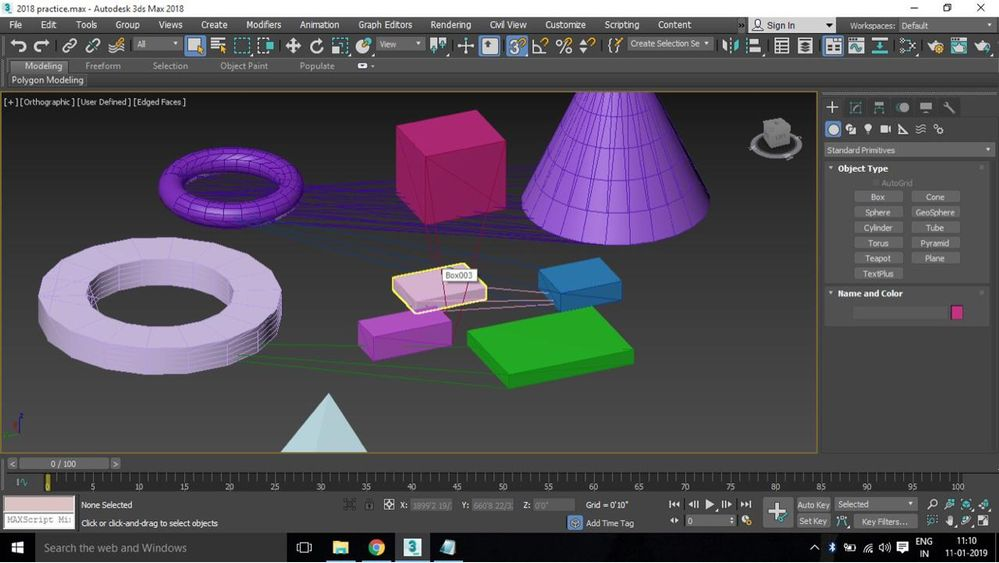 Solved: Strange lines in 3ds max 2018 - Autodesk Community- 3ds Max