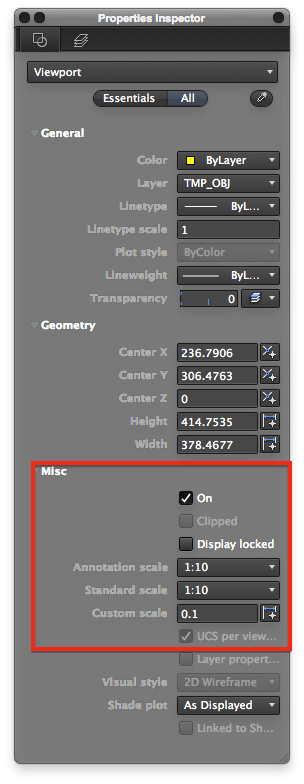 how to turn off layers in viewport autocad