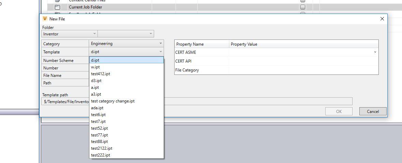 Solved: DataStandards- Sort Template File Combo box - Autodesk