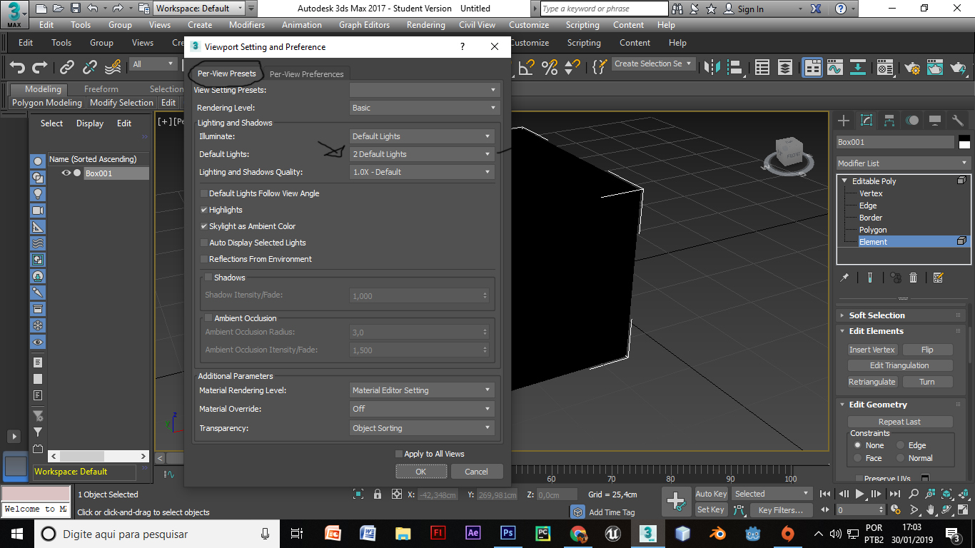 Solved: 3ds max 2017 standard viewport making all objects black