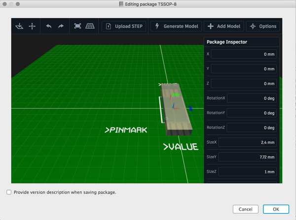Can not add step file to package - Autodesk Community- EAGLE