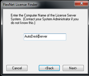 Solved: Loop trying to specify new License Server - Strange Solution