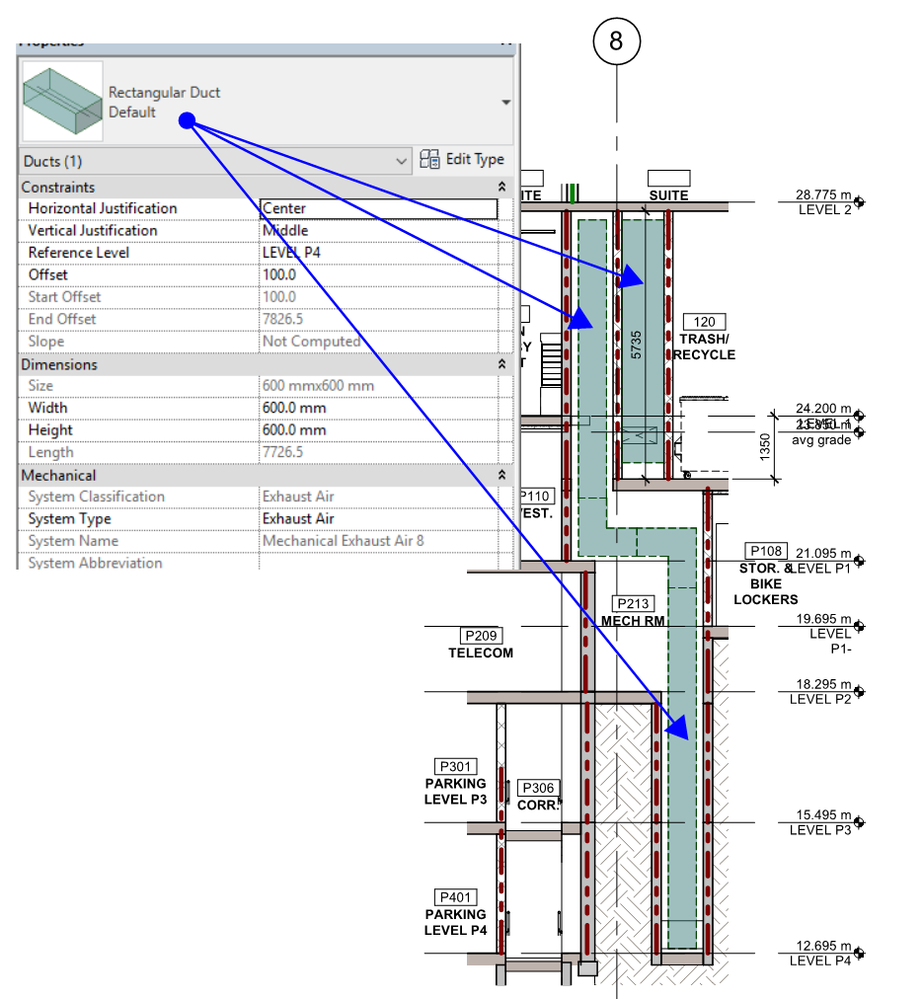 Solved: Revit 2018 - SET CUT DUCT FILL PATTERN IN SECTIONS