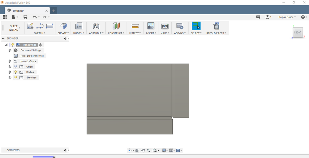 Solved Close Corner Sheet Metal Autodesk Community