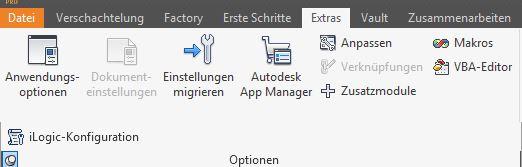 Gelöst: Inventor 2015 - Win7 - Exel blockiert remote zugriff