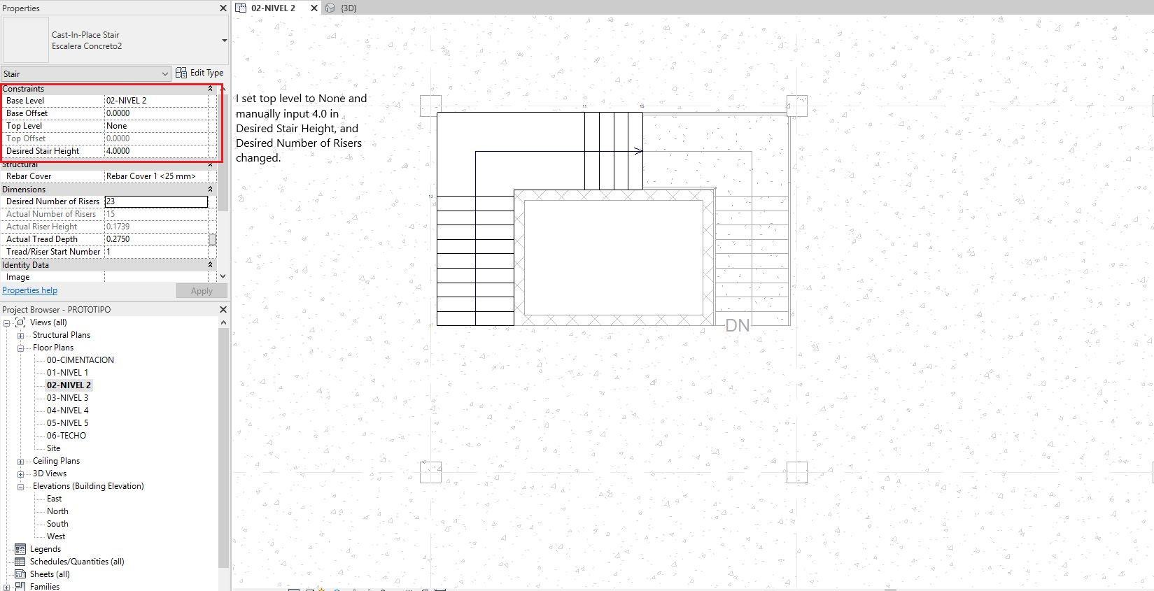 Solved: Desired Stair Height error in Revit 2019 - Autodesk