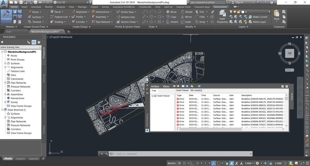Creating surface from Lidar data - Autodesk Community- Civil 3D