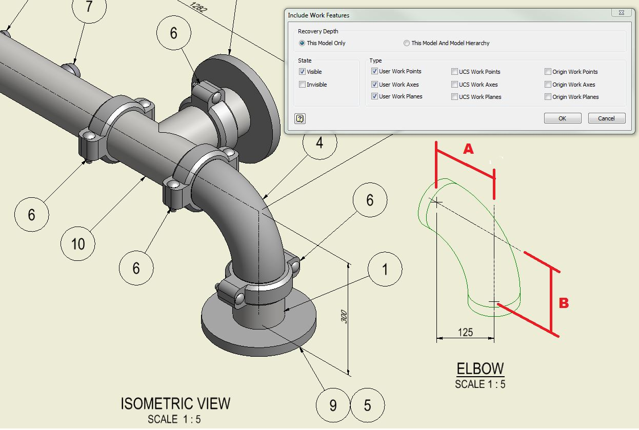 Piping - Isometric dimensions to Elbows - Autodesk Community