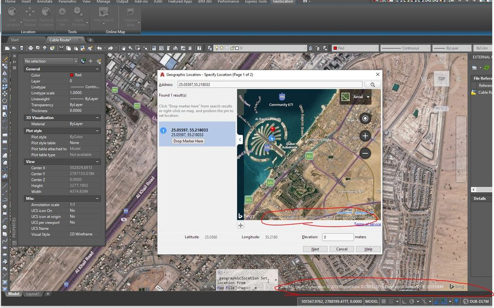 How to change geo-location Bing map to google map? - Autodesk ... Change Location Google Maps on